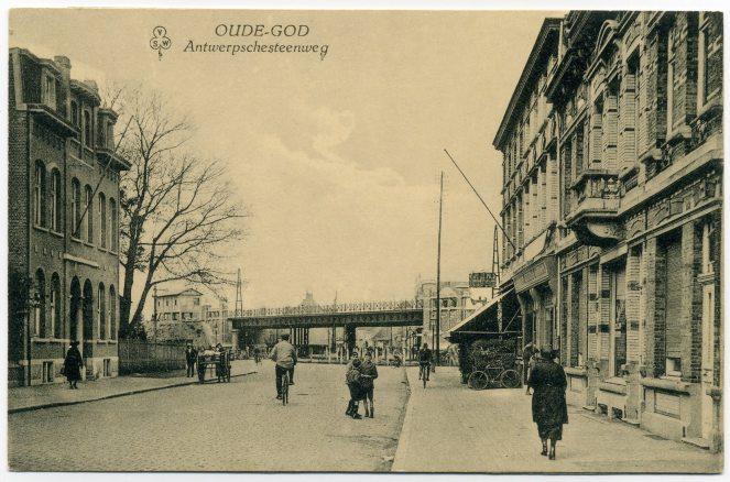 ''Oude-God Antwerpschesteenweg'' - Postkaart ''VSW'' Uitg. Claes Alexander - (sd).jpg